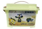 Vente en gros de jouets neufs Toy DIY Robot Car ABS Plastic Building Deforme Block Toys