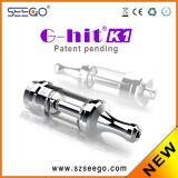 Il nuovo modo di Seego G-Ha colpito il vaporizzatore di EGO K1 con il serbatoio di vetro