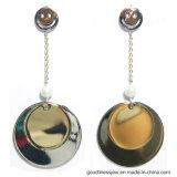 Beste Verkoop 925 van het Ontwerp van de Oorring van de Juwelen van de manier Zilveren Eenvoudige de Zilveren Juwelen van de Oorring (E6794W)