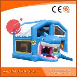 Bestellte aufblasbares Spielzeug 2017 federnd kombiniertes Caslte voraus (T3-030)