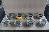 CF8m todo tipo de goma válvula de la mariposa del asiento del acero inoxidable de no retorno