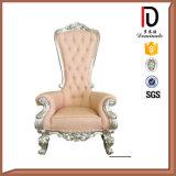De populaire Koning Zilveren Koningin Chair van de Stof (br-LC)