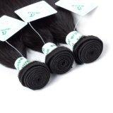 Unverarbeitetes brasilianisches Remy Menschenhaar-Extensions-Jungfrau-Haar-seidiges gerades