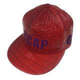 Cappelli rossi della protezione di Snapback dell'unità di elaborazione del ricamo su ordinazione per il partito per il nuovo anno