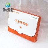 Seguros de impresión de la caja de embalaje de material de PVC