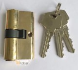 Cerradura de puerta estándar 5 clavijas de latón de doble cerradura de bloqueo seguro 35 mm-60 mm