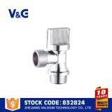 Угловой вентиль в угловом вентиле рефрижерации латунном (VG-E12441)