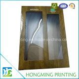 Personalizado impreso de papel cartón de vino caja de empaquetado