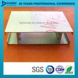 Mercado de aluminio de África Libia de la puerta de la ventana del perfil del aluminio 6063