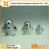 Figurilla Peguin cerámica para decoración del hogar
