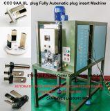 Bouchon d'insertion de borne de fil semi-automatique Machine à sertir pour fiche mâle 3 broches