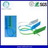 Vende al por mayor la etiqueta del sello de 320X26m m 13.56MHz RFID para la gerencia del equipaje