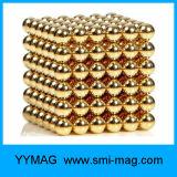 Conjunto de 5 milímetros de bolas magnéticas do cubo 216 de ímã de alta qualidade