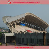 Azotea de acero prefabricada del braguero del palmo grande para el gimnasio de la estructura de acero