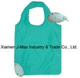 Saco de compras de presentes dobráveis, estilo de peixe animal, promoção, reutilizável, leve, sacos de supermercado e acessível, acessórios e decoração