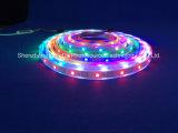 Farbenreicher SMD5050 Streifen des RGB-IP67 Chip-30LEDs 9W DC12V LED