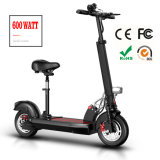 Scooter pliable électrique de mobilité de 2 roues d'homologation de la CE