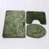Schaumgummi des Bad-Matten-stellte gesetzter Speicher-3PCS drei Stücke Gleitschutzbadezimmer-Matte ein