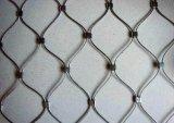 Edelstahl-Drahtseil-Ineinander greifen-Netz