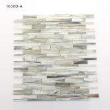 Mattonelle grige di vetro macchiato del mosaico della stanza da bagno ambientale del materiale da costruzione