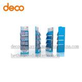 Papierbildschirmanzeige-Zahnstangen-Pappausstellungsstand für Einzelverkauf