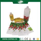 Étiquettes estampées de rétrécissement de PVC pour la boisson/bouteille d'eau
