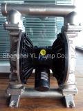 Roestvrij staal 304 van de Pomp van het Membraan van 1/2 Duim Lucht Aangedreven