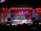 Pantalla grande de interior de la etapa posterior LED para los acontecimientos y el concierto de alquiler P3.125