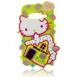 Caixa de telefone de borracha de silicone Hello Kitty para Huawei