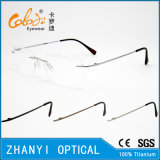 Blocco per grafici di titanio senza orlo leggero di vetro ottici di Eyewear del monocolo con la cerniera (5008) - C