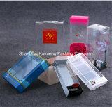 Printed&Foldabaleペットプラスチック導ライトパッケージボックス
