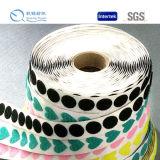 Gancho adesivo material de nylon da venda quente do produto novo e pontos Shaped do laço