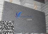 Mattonelle del granito del nero del sesamo personalizzate G654
