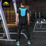 Vestiti di ginnastica della camicia di forma fisica di Legging di sport di usura di addestramento del Mens