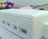 Sport gonfiabile bianco della tenda del cubo della doppia stanza