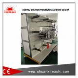 Completamente automático ajustando la máquina que corta con tintas rotatoria de la presión con tres estaciones