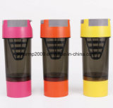 600ml 3 портативной слоя бутылки Joyshaker протеина Bottlle
