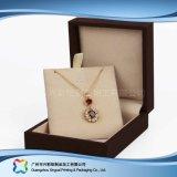 Houten luxe/het Vakje van de Verpakking van de Vertoning van het Document voor de Kosmetische Gift van Juwelen (xc-dB-016)