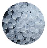 いろいろなサイズのハンドルが付いているプラスチック収納箱50L透過Removeableのプラスチックの箱