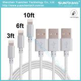마이크로 USB 직물에 의하여 땋아지는 비용을 부과 케이블에 공장 가격 USB 2.0