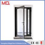 Sola fabricación de aluminio del precio de la puerta de oscilación