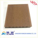 Pavimento composito di plastica di legno WPC di Decking della prova dell'acqua