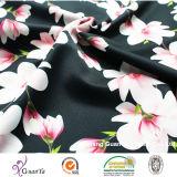 Напечатанный Cdc персика (Creape De Китай) для платья или одежды