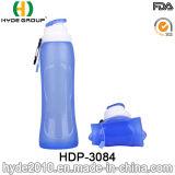 2017 la corsa BPA libera gli sport la bottiglia di acqua, la bottiglia di acqua di sport della plastica di silicone (HDP-3084) della plastica