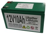 12V het navulbare Pak van de Batterij LiFePO4 van het Lithium Ionen