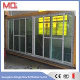 Дверь сползая стекла Mqd-3 PVC двери балкона