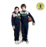 Escuela de niños OEM Zipper ropa deportiva camisetas deportivas