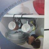 Iron Painting Cup Holder Rack 8 Mugs