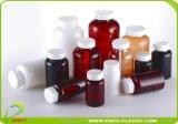 Bottiglia di plastica dei prodotti 200ml della medicina di plastica dell'animale domestico con la protezione della parte superiore di vibrazione