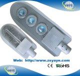 Lampada della strada di /LED dell'indicatore luminoso di via della PANNOCCHIA LED di approvazione 50/60/70/80W di prezzi competitivi Ce/RoHS di Yaye 18 con la garanzia 3/5years